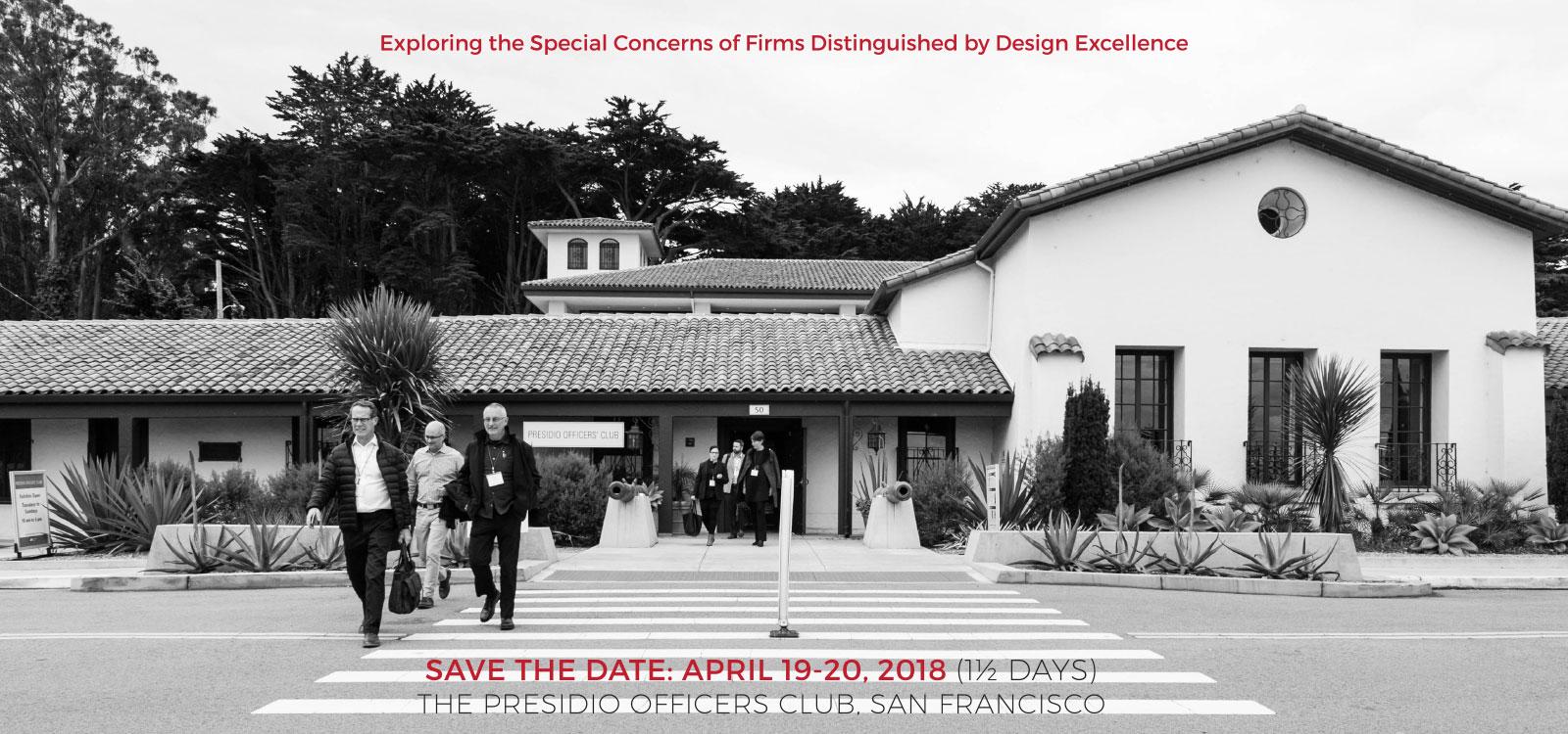 Design Colloquium, Save the Date: April 19-20, 2018